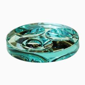 Scodella vintage in cristallo di Fontana Arte, anni '60