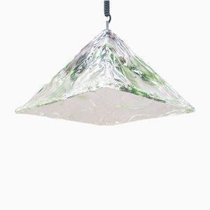 Mid-Century Murano Glass Lamp from Mazzega, 1960s