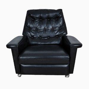 Vintage Leatherette Lounge Chair