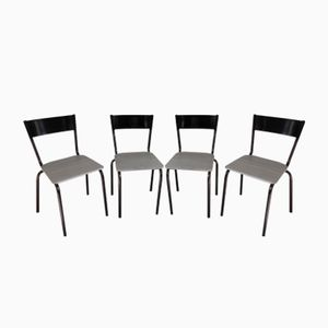 Mullca 510 Industrial Chairs, 1960s, Set of 4