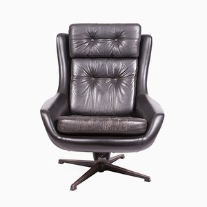 Leather Chair from Peem, 1970s