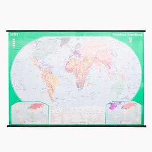 Weltkarte, 1980er