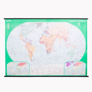 World Map, 1980s