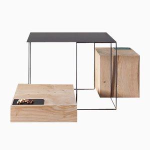 Tavolini da caffè di UNDUO, set di 3