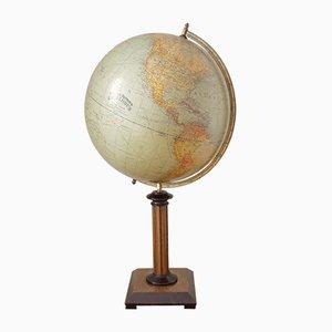 Vintage German Globe by Dietrich Reimers, 1927