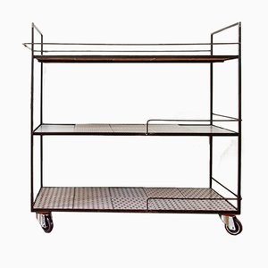 Sicily Bar Cart with Three Tiers by UNDUO