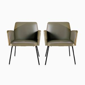 Armchairs from Mefem, 1950s, Set of 2