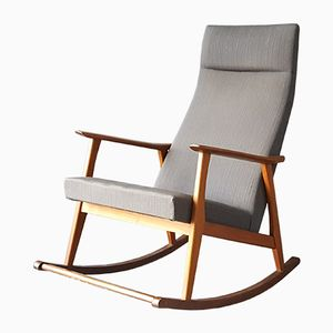 Vintage Danish Teak Rocking Chair