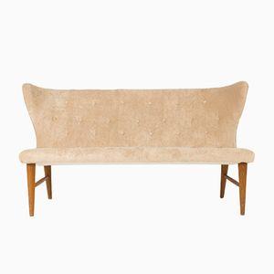 Velvet Sofa by Eric Karlén for Firma Rumsinterör, 1940s