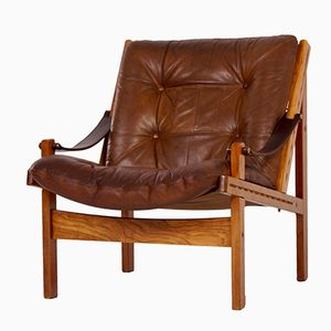 Hunter Safari Chair by Torbjörn Afdal for Bruksbo Norwegen, 1960s