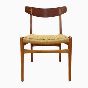 Mid-Century Modell CH23 Esszimmerstühle von Hans J. Wegner für Carl Hansen & Søn, 6er Set