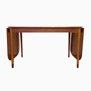 Mid-Century Danish Teak and Beech Extending Dining Table by Børge Mogensen for FDB