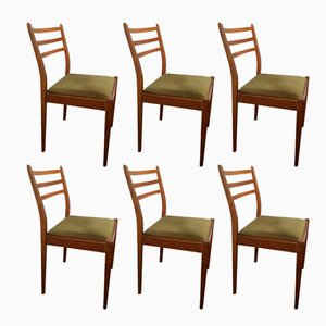 midcentury dining chairs by victor wilkins for gplan 1960s set