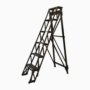 Wooden Folding Ladder, 1960s
