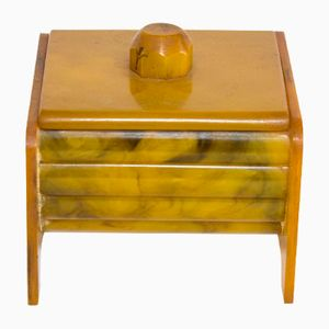 Mid-Century Carvacraft Bakelite Box by Charles Boynton for John Dickinson & Co Ltd