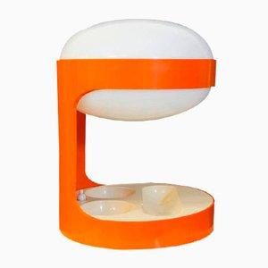 Orange KD29 Tischlampe von Joe Colombo für Kartell, 1960er