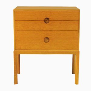 Small Chest of Drawers in Oak by Kai Kristiansen for Aksel Kjersgaard, 1950s