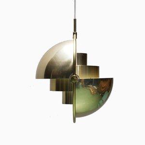 Multi-Lite Pendant by Louis Weisdorf for Lyfa, 1970