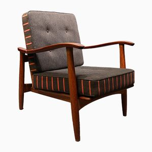 Teak Easy Chairs, 1960s, Set of 2
