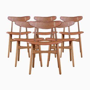 Model CH30 Dining Chairs by Hans J. Wegner for Carl Hansen & Søn, 1952, Set of 6
