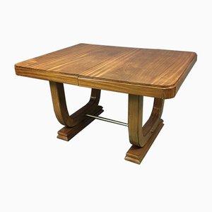 Art Deco Mahogany Table, 1930s