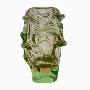 Glass Vase, 1950s