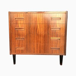 Mid-Century Small Danish Rosewood Chest of Drawers, 1960s
