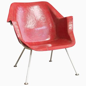 Model 416 Chair by Wim Rietveld & André Cordemeyer for Gispen, 1957