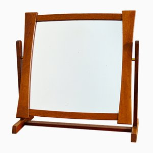 Teak Table Mirror from Glas & Trä, 1950s