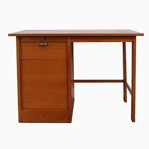 Vintage Schreibtisch aus Eiche von Curt Riedel