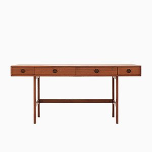 Mid-Century Desk by Jens Quistgaard for Peter Løvig Nielsen, 1960s