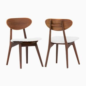 Dining Chairs by Louis van Teeffelen for Wébé, 1950s, Set of 6