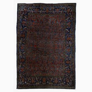 Antique Persian Kashan Rug, 1900s