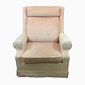 Club Chair in Velours, 1930s