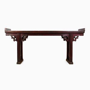 Table d'Autel Antique en Orme, Chine