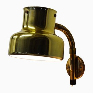 Brass Bumlingen Wall Light by Anders Pehrsson for Ateljié Lyktan, 1960s