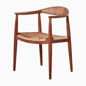 Mid-Century The Chair Model JH501 by Hans Wegner for Johannes Hansen