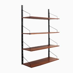 Vintage Single Suspended Bookcase