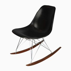 Black Rocking Chair by Charles & Ray Eames for Herman Miller, 1970s