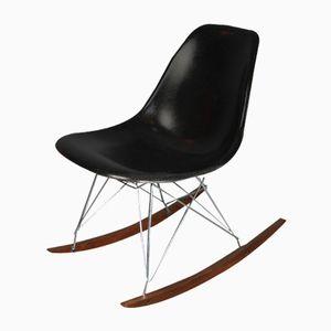 Schwarzer Schaukelstuhl von Charles & Ray Eames für Herman Miller, 1970er