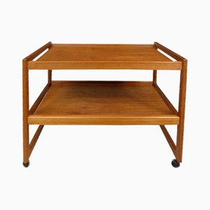 Danish Teak Tea Trolley, 1960s