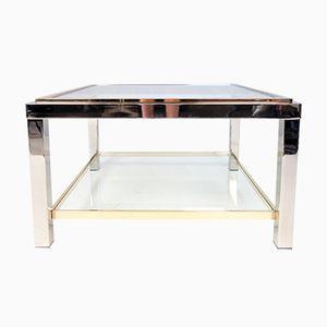 Table Basse Flamina Vintage en Verre par Willy Rizzo