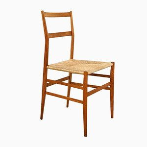 Chaise de Salon Superleggera par Gio Ponti pour Figli Di Amedeo Cassina, 1950s
