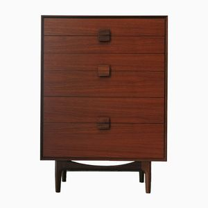 Chest of Drawers in African Teak by Ib Kofod-Larsen for G-Plan, 1960s
