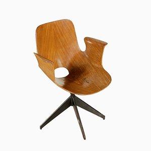 Vintage Medea Swivel Chair by Vittorio Nobili for F.lli Tagliabue