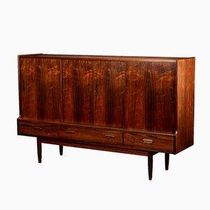 Mid-Century Danish Modern Rosewood Veneer Sideboard, 1960s