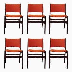 Mid-Century Teak Esszimmerstühle von Anderstrup, 1960er, 6er Set
