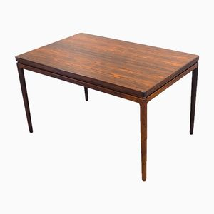 Vintage Extendable Rosewood Veneer Dining Table from Christian Linneberg
