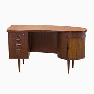 Vintage Modell 54 Schreibtisch in Nierenform von Kai Kristiansen für Feldballes Møbelfabrik