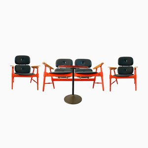 Seating Group with a Coffee Table from Poltronova, 1970s